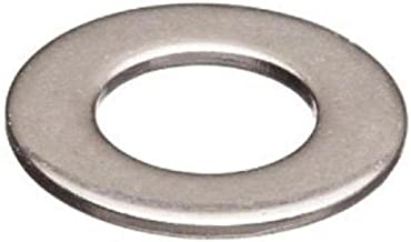 18-8 Stainless Steel Flat Washer, Plain Finish, 1