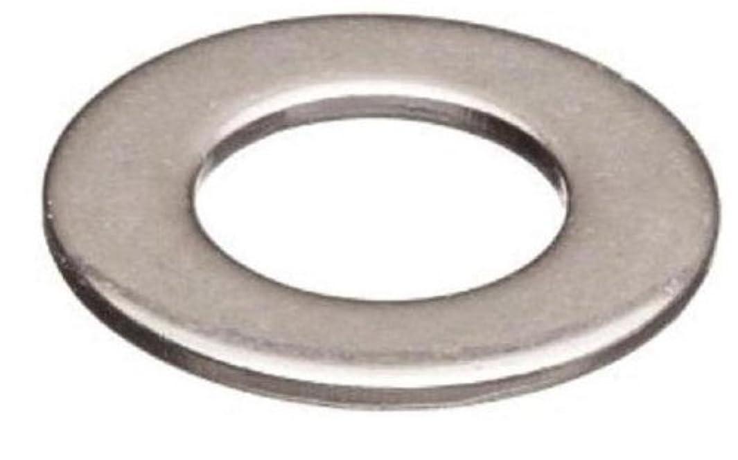 18-8 Stainless Steel Flat Washer, Plain Finish, 1-3/4