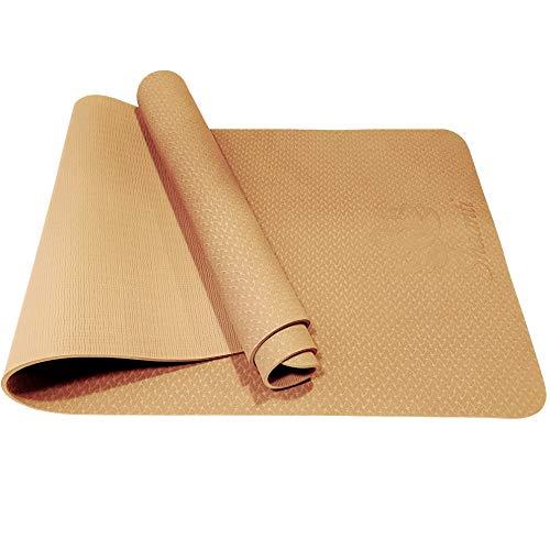 SHAANTI Esterilla de fitness plegable y resistente al sudor de TPE respetuosa con el medio...
