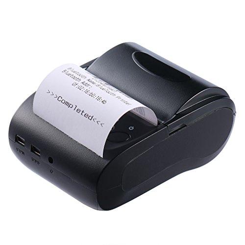 LESHP Impresora Térmica de Recibo Billetes Tickets Con