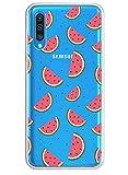 Caler Funda compatible con Samsung Galaxy A10/M10 funda transparente con dibujos de TPU suave Bumper protectora Case con bonito patrón de TPU silicona antigolpes 3D Vogue Ultra Chic