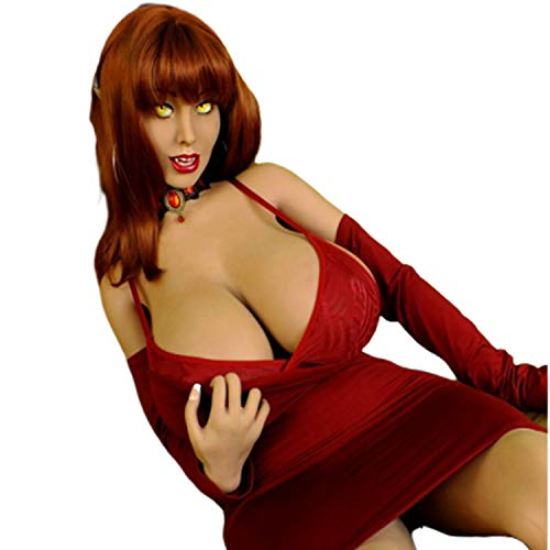 Real Doll Realistic Hughe Breasts Ass Silicone TPE Sex Dolls Sextoy 160cm 5ft 24 Vampire