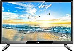 """28"""" LED HDTV by Continu.us   CT-2860 High Definition Television 720p 60Hz TV, Lightweight and Slim Design, VGA/HDMI/USB Inputs, VESA Wall Mount Compatible."""