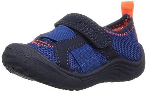 Carter's Baby Troop Boy's and Girl's Water Shoe, Navy, 10 M...
