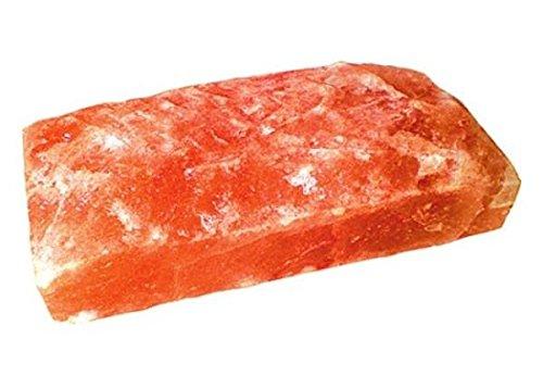 Preisvergleich Produktbild 10x Salzziegel Steine 20x10x5cm Eine Seite Rau Kristallsalz Steine je 2, 2 kg TOP Direkt Anbieter aus Pakistan