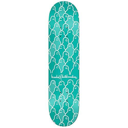 Krooked Skateboards-Deck Krouded - 8.06 Inch Grun (One Size, Grun)