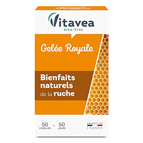 Vitarmonyl - Gelée Royale 50 Capsules - non lyophilisée - programme 50 j - 200 mg