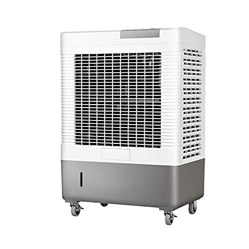 QINGZHUO Enfriador De Aire,3 Velocidades,Enfriador Evaporativo con Tanque De Agua,Potente Unidad De Aire Acondicionado,para Granjas Industriales Y Otros Espacios De Gran Superficie.