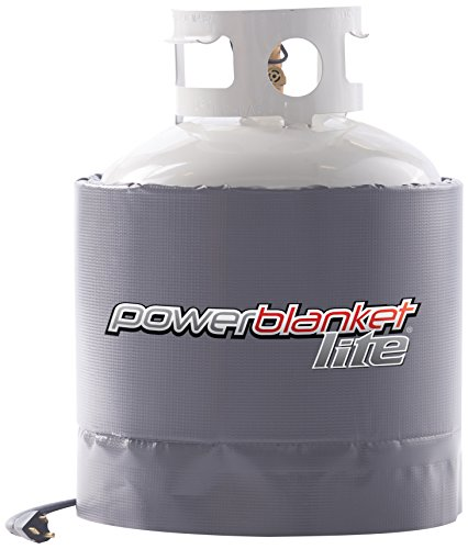 Find Discount Powerblanket PBL20 Gas Cylinder Heater (Propane), 20 lb, Charcoal Gray