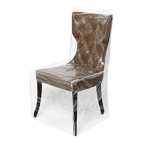 Hainter Stuhl Husse, Universell Stuhlhussen Plastik Stuhlbezug Stuhlüberzug der Haus Transparent