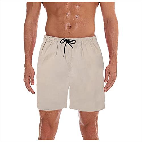 Pantalones de playa para hombre Verano,Vacaciones de Verano Impreso Playa Camisa Informal de Hawaii
