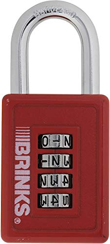cheap Brink's 175-500 54 digit resettable combination lock, 40 mm (various colors)