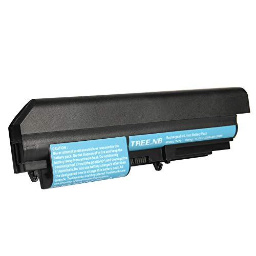 AC Doctor INC Widescreen battery for IBM Lenovo ThinkPad R61 R61i T61 T61p T400 R400 Series Laptop 14.1 Inch