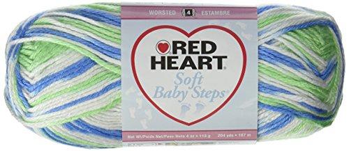 Bulk Buy: Red Heart Soft Baby Steps Yarn (3-Pack) Puppy Print E746-9932