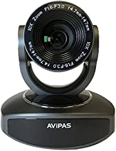 AV-1080G 10x Full-HD 3G-SDI PTZ Camera with IP Live Streaming -Dark Gray