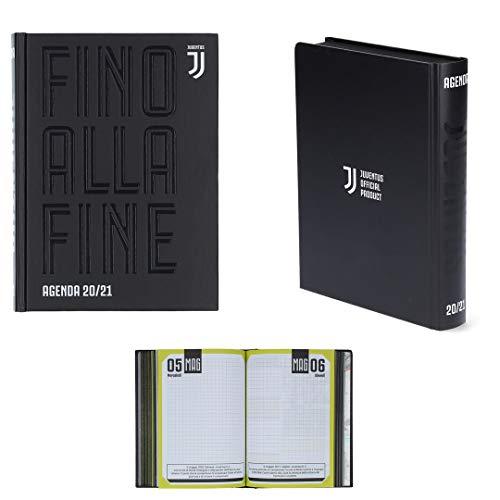 Juventus Agenda/Diario Scolastico - Collezione Scuola 2020/2021-100% Originale - 100% Prodotto Ufficiale - Dimensioni 18,5 x 13,5 cm - Copertina Rigida