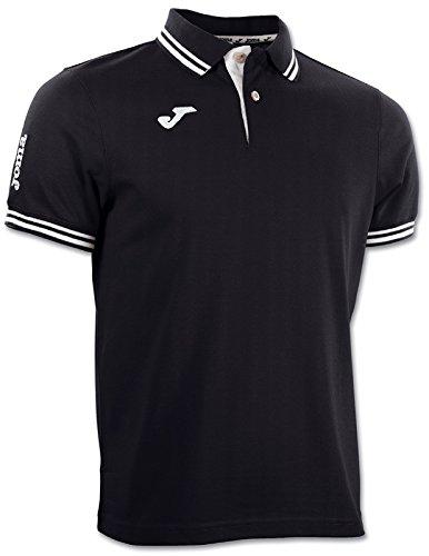 Joma 3007S13.10 Polo Sportswear, Noir, FR Ans (Taille Fabricant : 14)