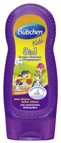 Bübchen Kids Shampoo & Shower 3in1, 8er Pack (8 x 230 ml)