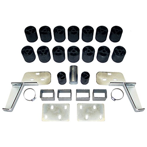 Performance Accessories, Chevy/GMC Silverado/ Sierra 1500/2500 Gas 2WD and 4WD Std/Ext/Crew Cab 3' Body Lift Kit, fits 1988 to 1994, PA10013, Made in America