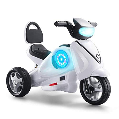 HQXH Motocicletas Espaciales Eléctricas para Niños, Los Bebés Pueden Sentarse, Las Personas Pueden Andar En Triciclos Eléctricos Y Los Carros De Juguete para Niños.