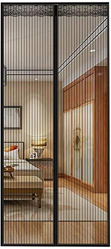 AKEFG Cortina mosquitera Doble magnetica Puerta Exterior, Mosquitera Puerta corredera Lateral con iman para terraza/habitacion Fácil de Instalar,80 * 200cm(31.5 * 79in)