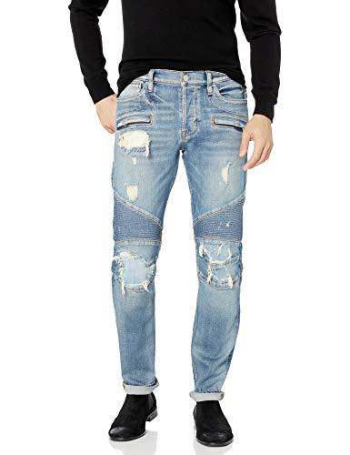 Hudson Jeans Herren The Blinder Biker Denim Jeans, Rückwärts, 49
