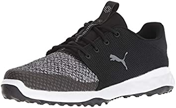 Puma Golf Men's Grip Fusion Sport Golf Shoe, Puma Black-Quiet Shade, 11 M US