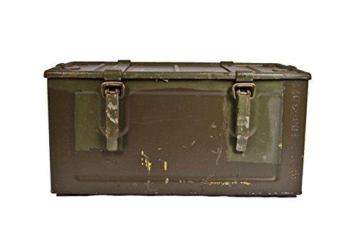 Unbekannt Munitionskiste Indochina Oliv gebraucht 48 x 25 x 24,5 Werkzeugkiste Metallkiste Metallbox