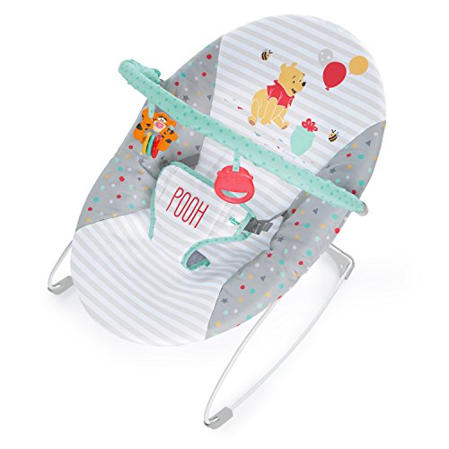 Bright Starts Disney Baby Winnie The Pooh Happy Hoopla Vibrating Bouncer
