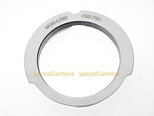 高品質 ライカLマウント (L39) レンズ → ライカM マウントアダプター(50mm/75mm)【1回のお買い上げ金額が合...