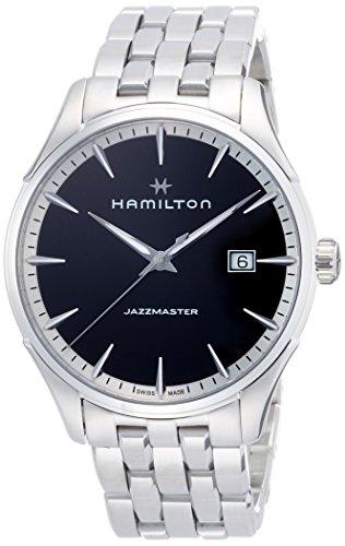 Hamilton Orologio Analogico Quarzo Uomo con Cinturino in Acciaio Inox H32451131