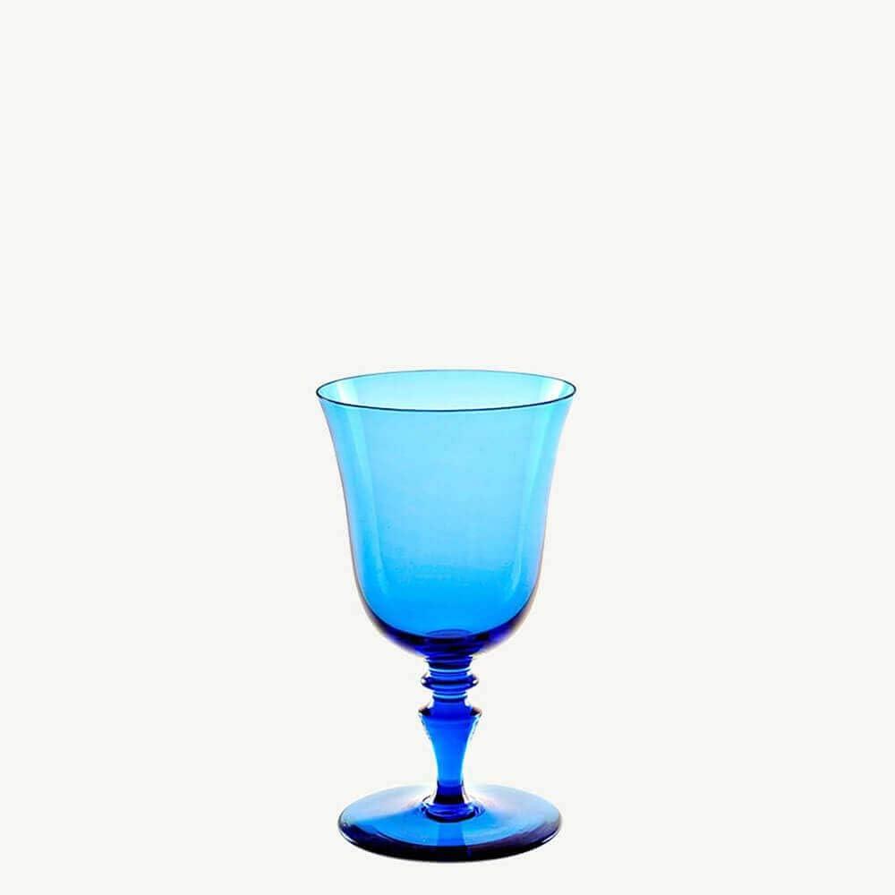 Nason Moretti Set 2 8 acquamarine Manufacturer OFFicial shop 77 Chalice Colorato Excellent Water