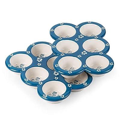 Wisenvoy Muffin Pan Cupcake Pan Ceramic Muffin Tin Cupcake Tin Popover Pan Muffin Pans Nonstick 6 Cupcake Tray