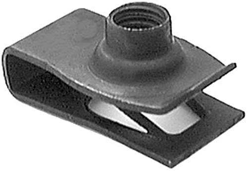 Clipsandfasteners Inc 50 Extruded U Nuts M6-1.0 Screw Size For GM 11503714