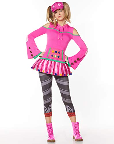Adult Zoey Fortnite Costume   OFFICIALLY LICENSED - XS
