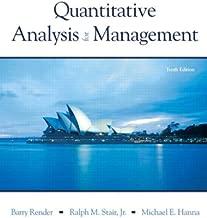 Quantitative Analysis for Management