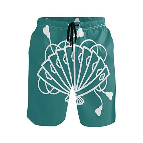 DEZIRO Bañador japonés plegable para hombre, de secado rápido