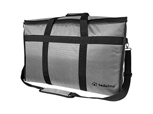Tadaima Premium Insulated Food Delivery Bag - Large 23x14x15 inches Waterproof Carrier Bag For Catering, Groceries, Uber Eats DoorDash Instacart Postmates - Thermal Insulation keeps Food Hot and Cold