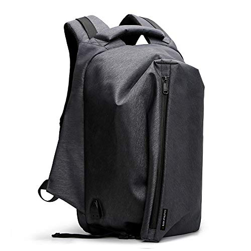 RUSH ATHLETICS , Zaino Casual  Grigio Slate Grey Upto 15' Laptop / 20 Litre Capacity