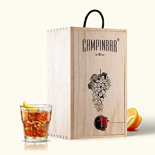 Bag in box vino - Campinbar 5 Litros (Vermut Rojo)