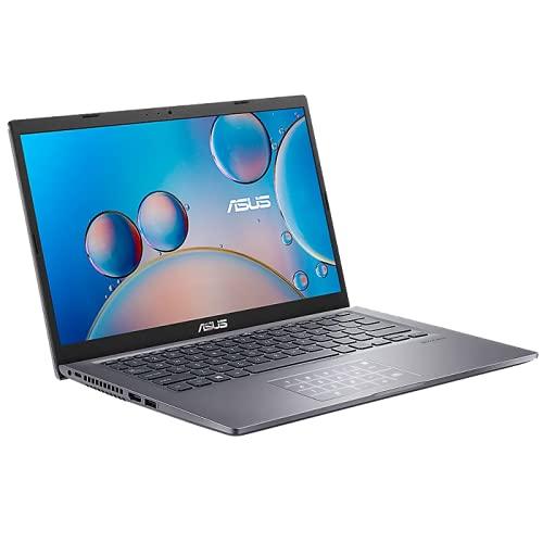 ASUS Notebook (14 Zoll FullHD Matt) AMD Ryzen 5 5500U 2.1 GHz HexaCore, 8GB RAM, 256GB M.2 PCIe SSD, W-LAN, BT, HDMI, Windows 10 Home, Slate Grey
