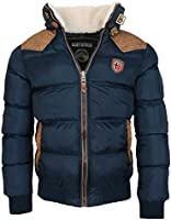 Geographical Norway Veste d'hiver Chaude Designer Hommes Hiver Veste Matelassée, exste en 2 Coloris du S au XXL
