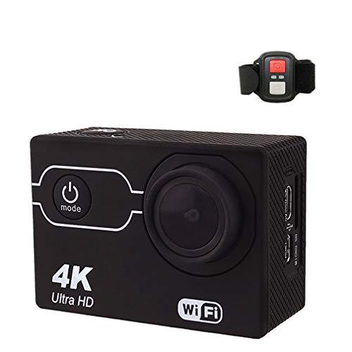 Ydshyth Unterwasserkamera 2.7K 16 MP wasserdichte Digitalkamera 170 Grad Weitwinkel-LCD-Bildschirm Fernbedienung Mit Helmzubehör-Kit,32G