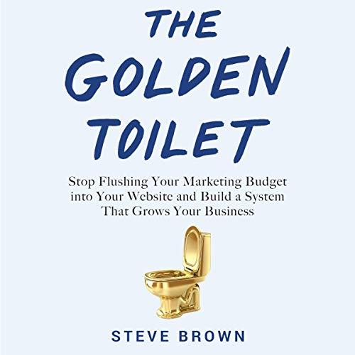 The Golden Toilet audiobook cover art