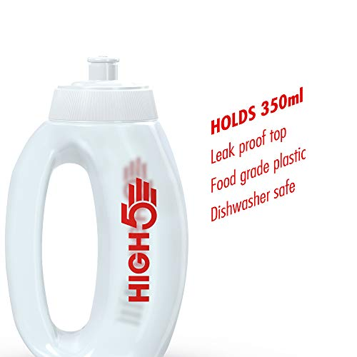HIGH5 Drinks Professional Sports Run Bottle BPA Leak Proof Dishwasher Safe (350ml)