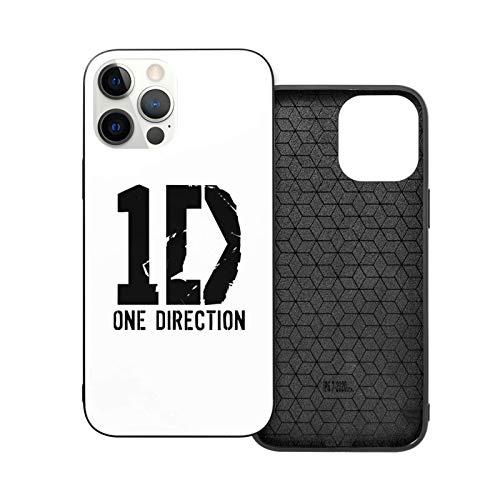 hotrilicoc Compatible con iPhone 12/12 Pro MAX 12 Mini 11 Pro MAX SE X/XS MAX XR 8 7 6 6s Plus Funda One-Direction Negro Cajas del Teléfono Cover 🔥