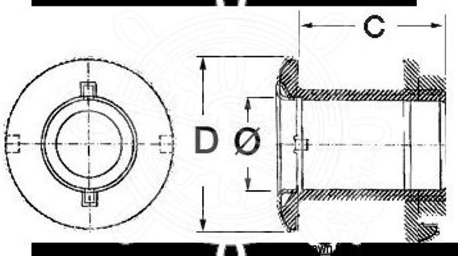 OSCULATI Passe-Coque AISI 316 polis Miroir 11 2
