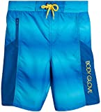 Body Glove Boys Quick-Dry Swimming Board Shorts, Solid Blue, Size 18