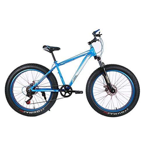 LICHONGUI 26 Inches Beach Snow Trail Runner Mountain Bicycle Cross-country Double Shock Absorption System Mountain Bike Wide Tires Variety of Specifications