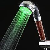 MRZJ 3-farbige geführte Dusche Spa Farbe ändern Dusche kleine Dusche negativ Ionen große...